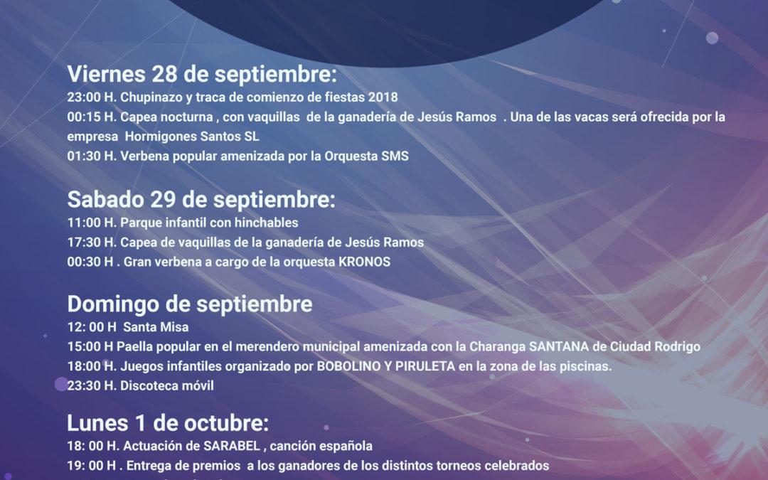 Fiestas Alba de Yeltes 2018